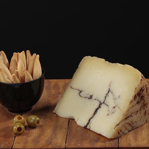 Falca de Formatge Moliterno Pecorino Trufat (200 gr aprox.)
