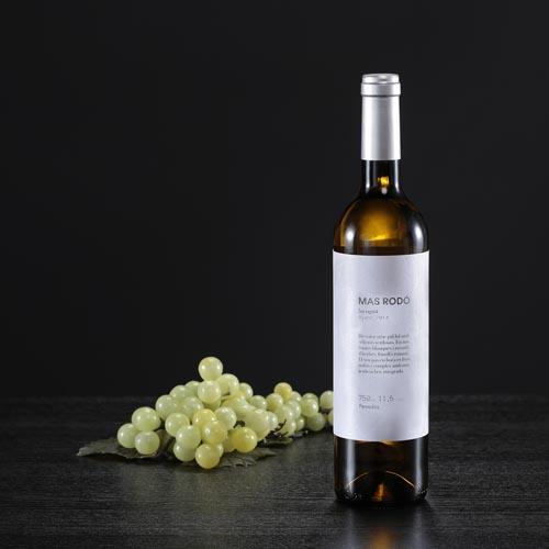 Ampolla de vi blanc Incògnit, D.O. Penedès