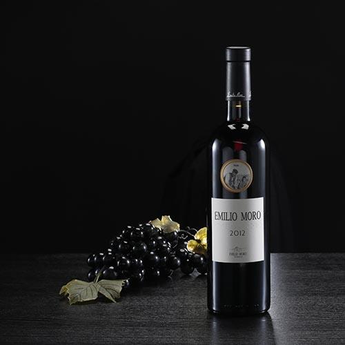 Ampolla de vi negre Emilio Moro, D.O: Ribera del Duero