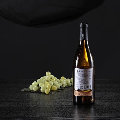 "Botella de vino blanco Blei ""Clos Martina"", D.O. Priorat"