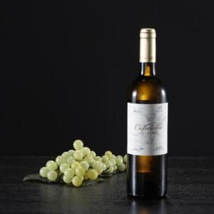 Botella de vino blanco Capricho, D.O. Bierzo