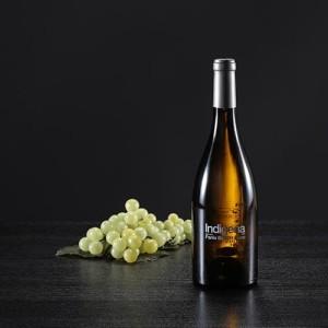 Botella de vino blanco Indígena, D.O. Penedés