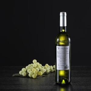 Botella de vino blanco Val d'Alferche, D.O. Somontano