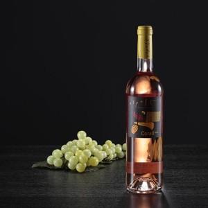 Botella de vino rosado Coralí, D.O. Empordà