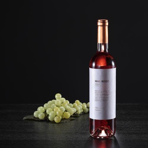 Botella de vino rosado Incògnit, D.O. Penedés