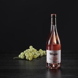 Botella de vino rosado Muga, D.O. Rioja