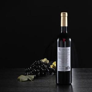 Botella de vino tinto Val d'Alferche, D.O. Somontano
