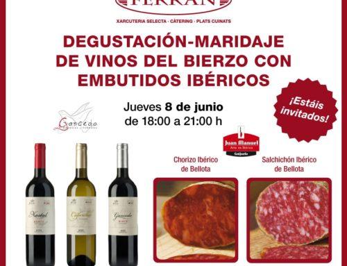 Degustación-Maridaje de vinos con embutidos ibéricos