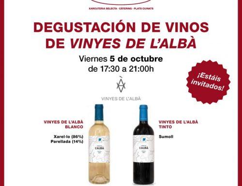 ¡Estrenamos nueva temporada con una degustación de vinos!