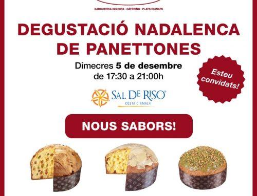 Aquest desembre… degustació de panettones!