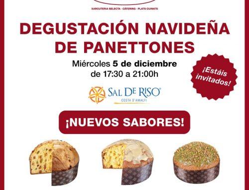 Este diciembre… ¡degustación de panettones!