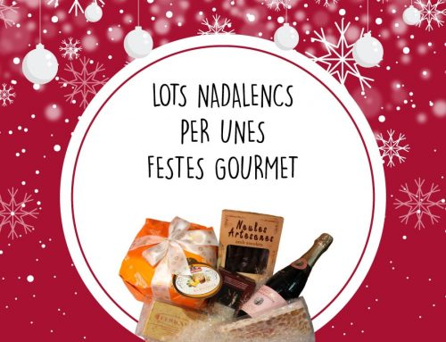El sabor de les festes en els nostres lots i cistelles de Nadal