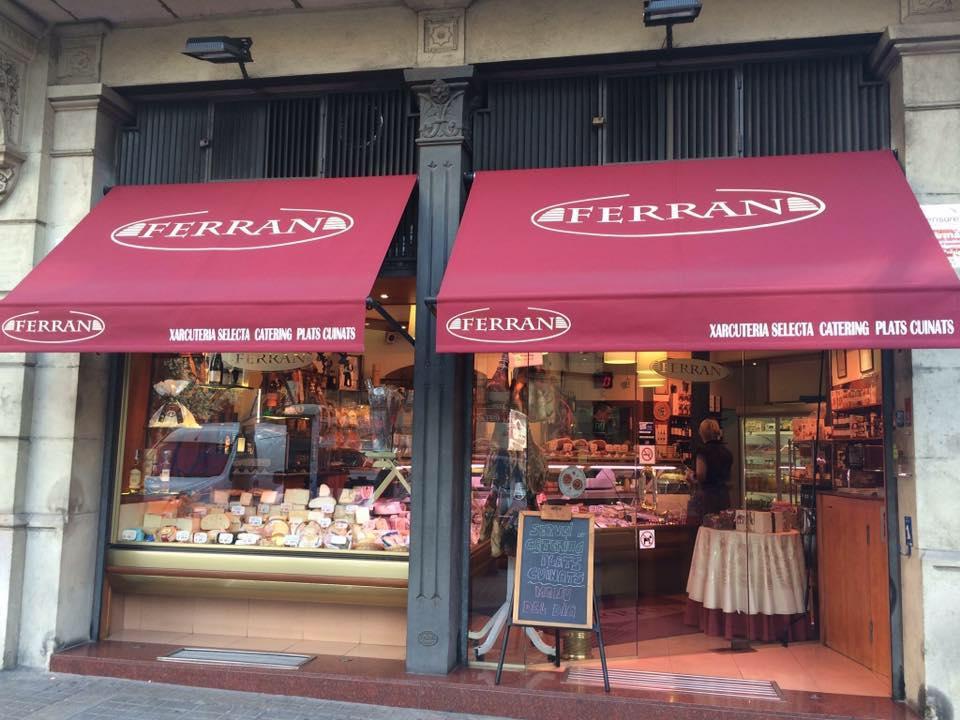 Façana botiga Xarcuteria Ferran
