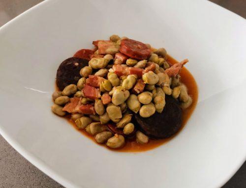 Descubrimos una fácil y deliciosa receta de habas con chorizo