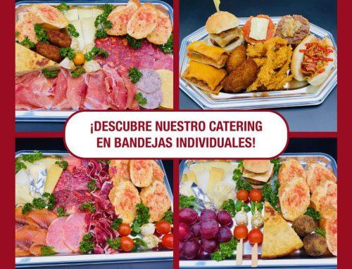 Descubre nuestro nuevo catering en bandejas individuales